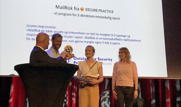 MailRisk wins best new security product award